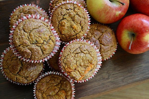 muffin pomme carotte