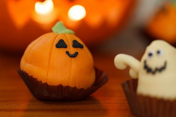 Pâte d'amande pour halloween