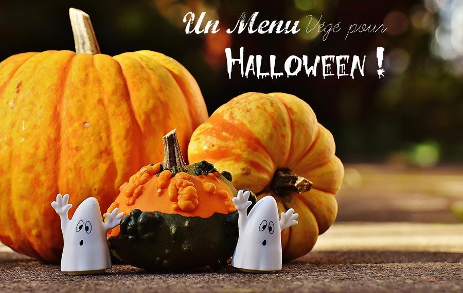 Recette Menus végétarien pour Halloween
